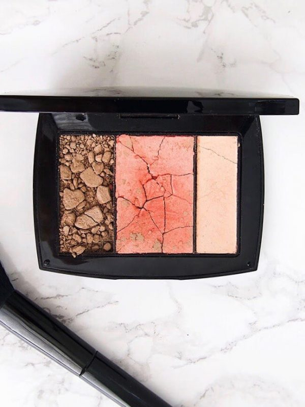 Salvage your old, broken makeup to make on-trend cosmetics!